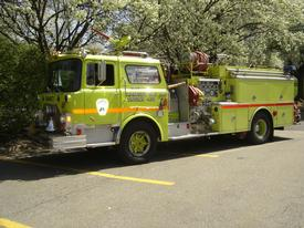 Engine 435 The first Lime Green Engine 1973 Mack